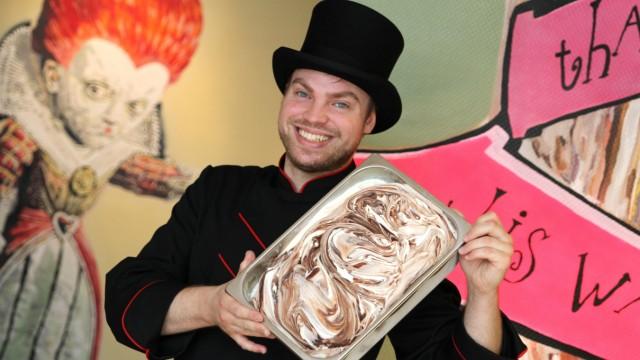 Eis Verrückter Eisladen in der Maxvorstadt