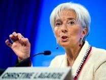 Lagarde hat begrenzt Mitleid für Griechen