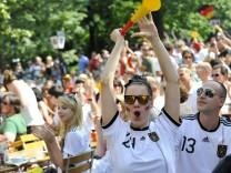Fußball-WM 2010: Public Viewing in München, 2010