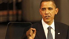 Barack Obama US-Präsident Friedensnobelpreis Nobelpreis Frieden Krieg Afghanistan Oslo, Reuters