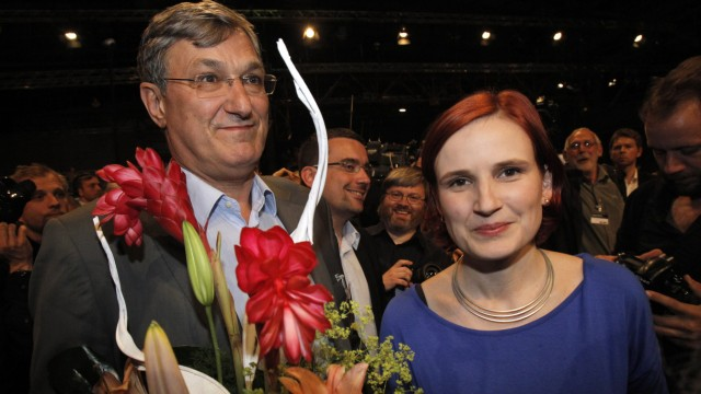 Kipping and Riexinger, Linke-Parteitag