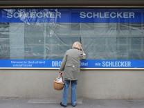 Investor Penta rudert bei Schlecker zurueck