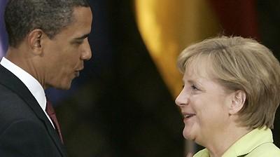 Angela Merkel Merkel besucht USA