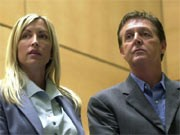 Paul McCartney und Heather Mills; dpa