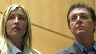 Paul McCartney und Heather Mills