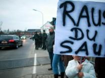 Proteste gegen entlassenen Sexualstraftäter