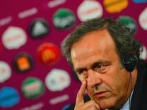 UEFA -Chef Platini, Europameisterschaft 2012