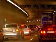 stadtverkehr im tunnel ; ddp