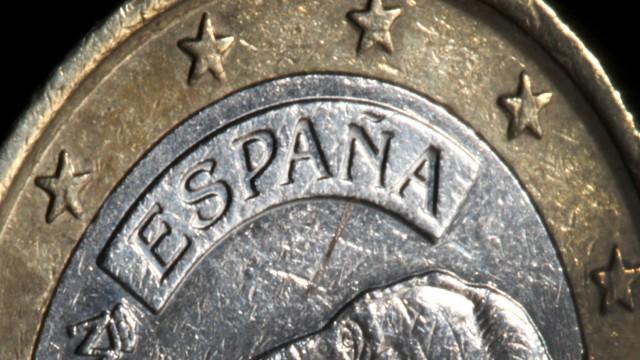 Spanische Euro-Münze