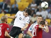 Mario Gomez, Deutschland gegen Portugal, EM 2012