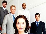 Niederlande Frau in Führungsetage