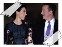 Samantha und David Cameron