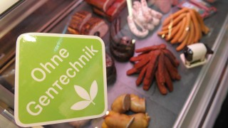 Gentechnik-Logo für Lebensmittel