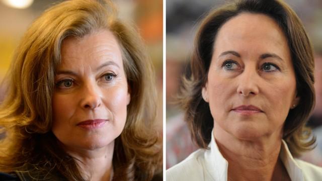 KOMBO - Valerie Trierweiler und Segolene Royal