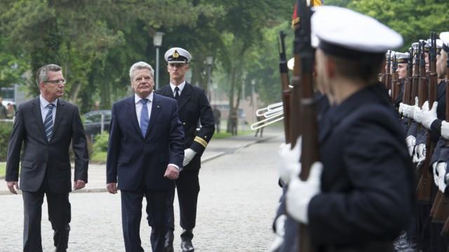 Gauck fordert mehr Offenheit für Auslandseinsätze der Bundeswehr