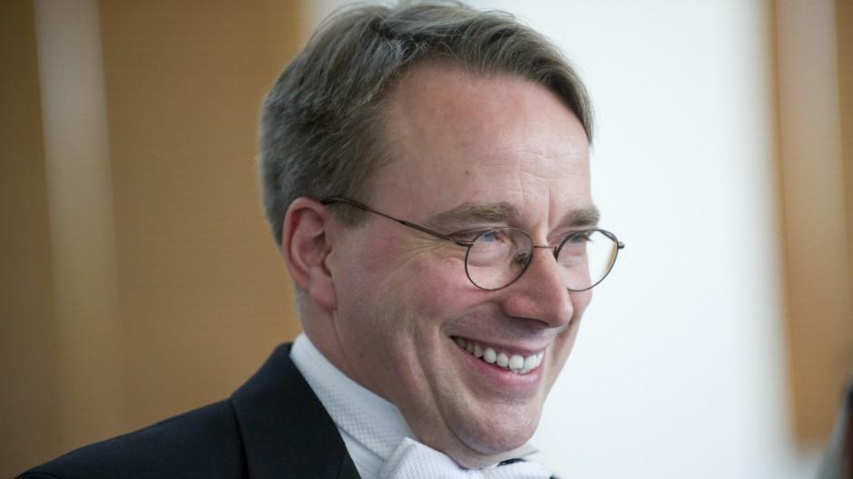 Linus Torvalds Ehrung für Linus Torvalds