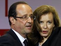 Francois Hollande, Valerie Trierweiler
