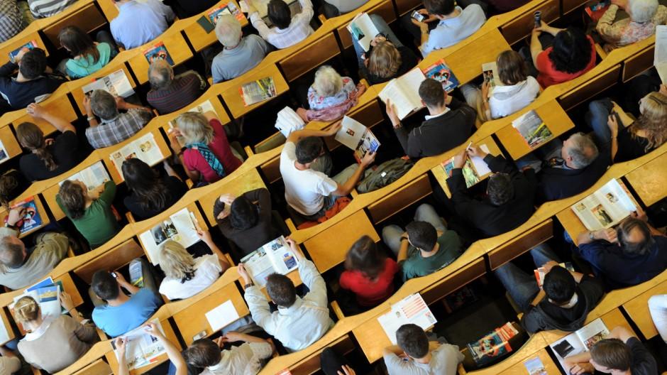 Hörsaal 'Audimax' an der Humboldt-Universität