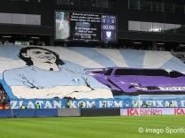 Fußbal  Zlatan Ibrahimovic Fanf Malmö