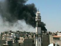 Homs unter Beschuss