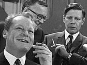 SPD; Brandt; Schmidt Schiller; dpa