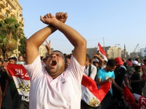 Protest in Cairo ahead of Egypt elections