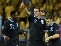 Euro 2012: Schweden - England
