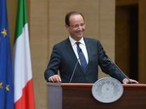 Francois Hollande triumphiert