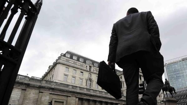 Finanzkrise, London, Banken