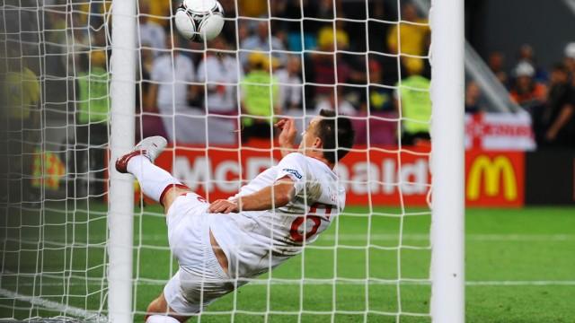 England Ukraine Terry Euro em 2012 Schiedsrichter Tor Linie