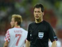 Wolfgang Stark, Schiedsrichter  Kroatien - Spanien