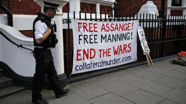 Assange seeks refuge in Ecuador's embassy in London