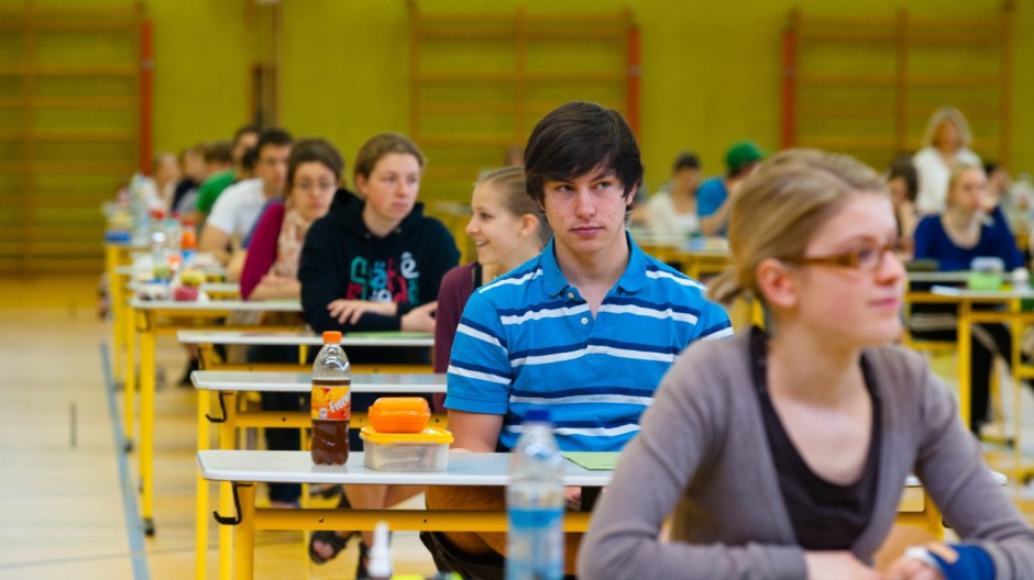Abitur G 8 stellt Abiturienten vor Probleme
