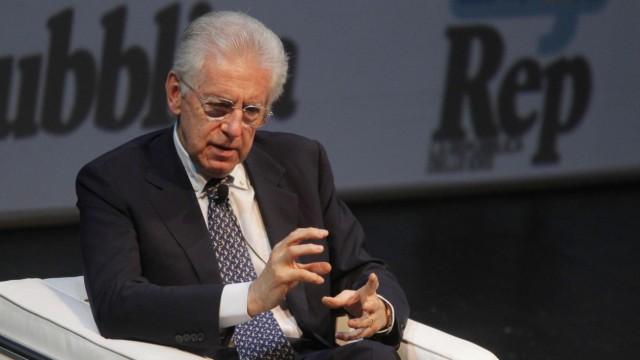 Italiens Premierminister Mario Monti.