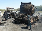 Bombardement bei Kundus: Bis zu 142 Menschen kamen bei dem Angriff ums Leben; dpa