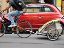 Fahrrad, Auto, Mobilität, Tübingen, Französisches Viertel