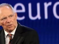Bundesfinanzminister Wolfgang Schäuble CDU