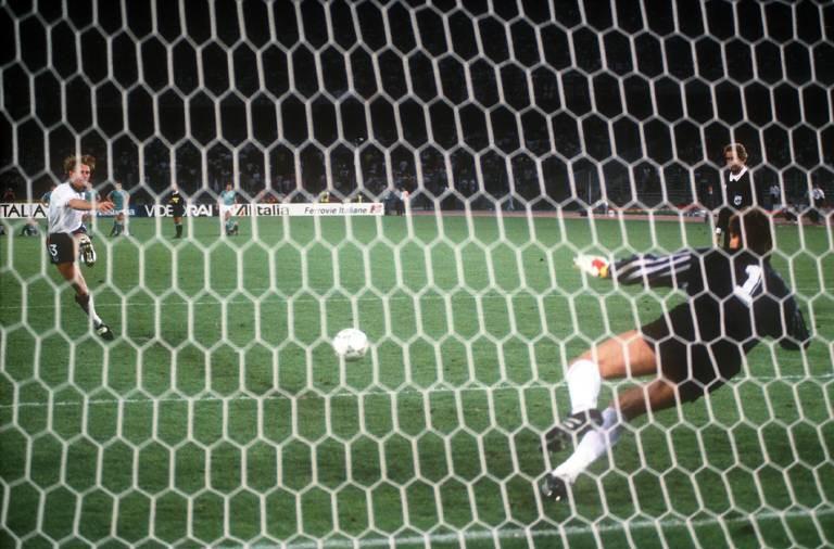 Fussball Em Wm 1990 England Deutschland 5 6 Sport