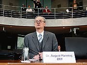 ddp, August HAnning, de Maiziere, Innenministerium, BND
