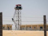 Grenze zwischen Israel und Ägypten