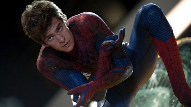 "Andrew Garfield in ""The Amazing Spider-Man"""
