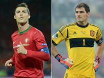Ronaldo Casillas EM Euro Europameisterschaft Spanien Portugal Halbfinale