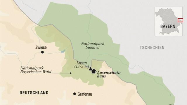 Nationalpark Bayerischer Wald Karte.Nationalpark Bayerischer Wald Toter Wald Verbessert Den Ausblick
