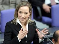 Bundestag debattiert über Betreuungsgeld, Familienministerin Kristina Schröder