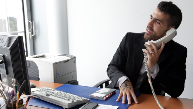 Rapper Bushido absolviert Praktikum im Bundestag