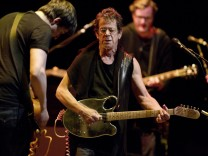 Lou Reed performs in Amsterdam