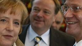 Merkel, Niebel, Westerwelle, Reuters
