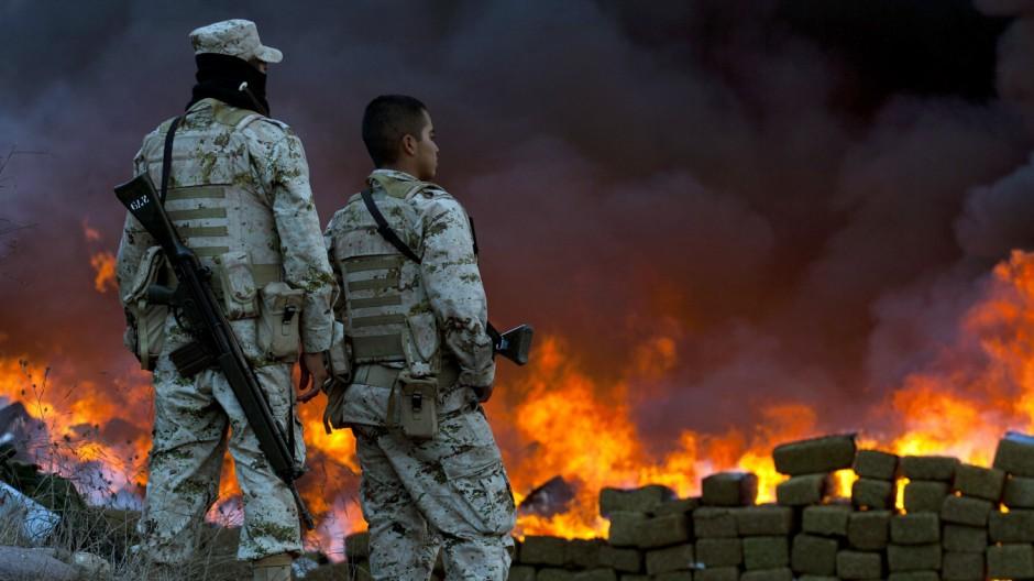 Drogen-Krieg in Mexiko Kampf gegen die Kartelle in Lateinamerika