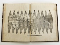 A famous cartography is pictured, after its discovery in Munich's university library