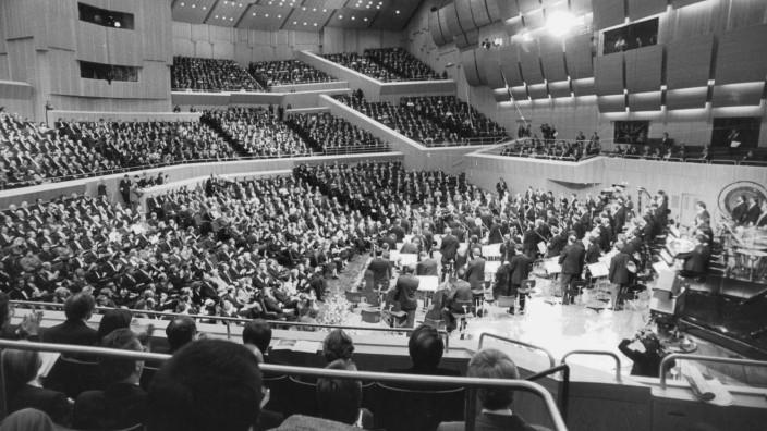 """Eröffnung des Münchner """"Kulturzentrums am Gasteig"""", 1985"""